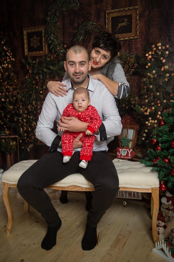 Sedinta Foto Craciun pentru Familie