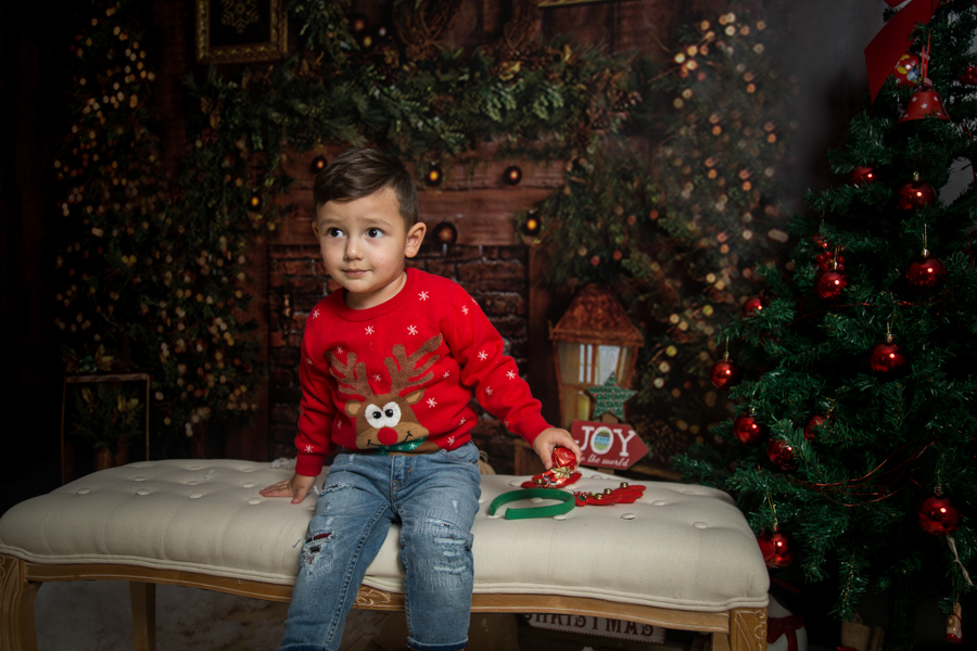 Sedinta Foto Craciun pentru Copii si Familie-Patrik