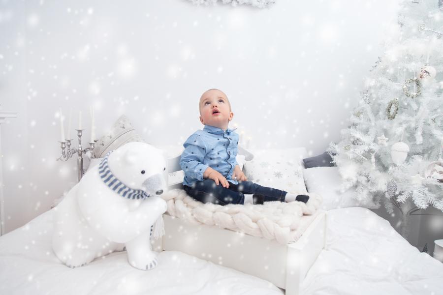 Sedinta Foto Craciun pentru Copii si Familie-Andrei