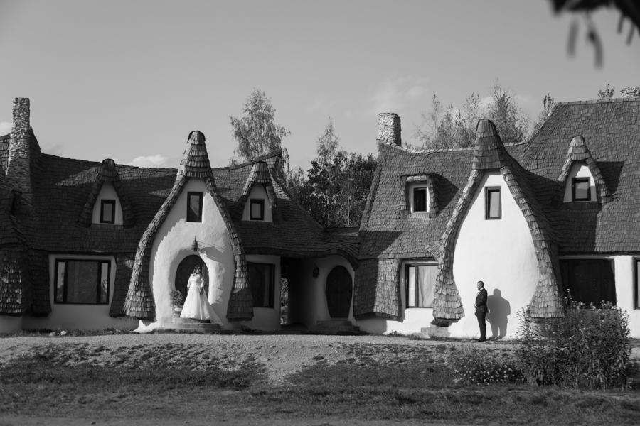Sedinta foto dupa Nunta-Adi si Cyntia la Castelul de Lut